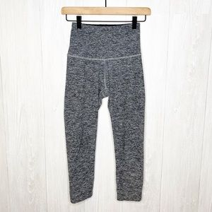 Beyond Yoga | Heather Gray Crop Legging Sz. S